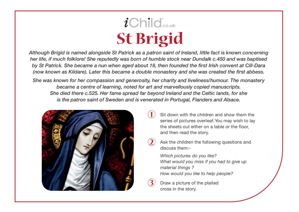 St. Brigid Religious Festival Story