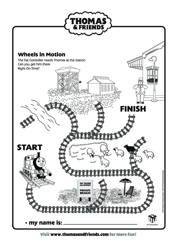 Wheels in Motion (Thomas & Friends)