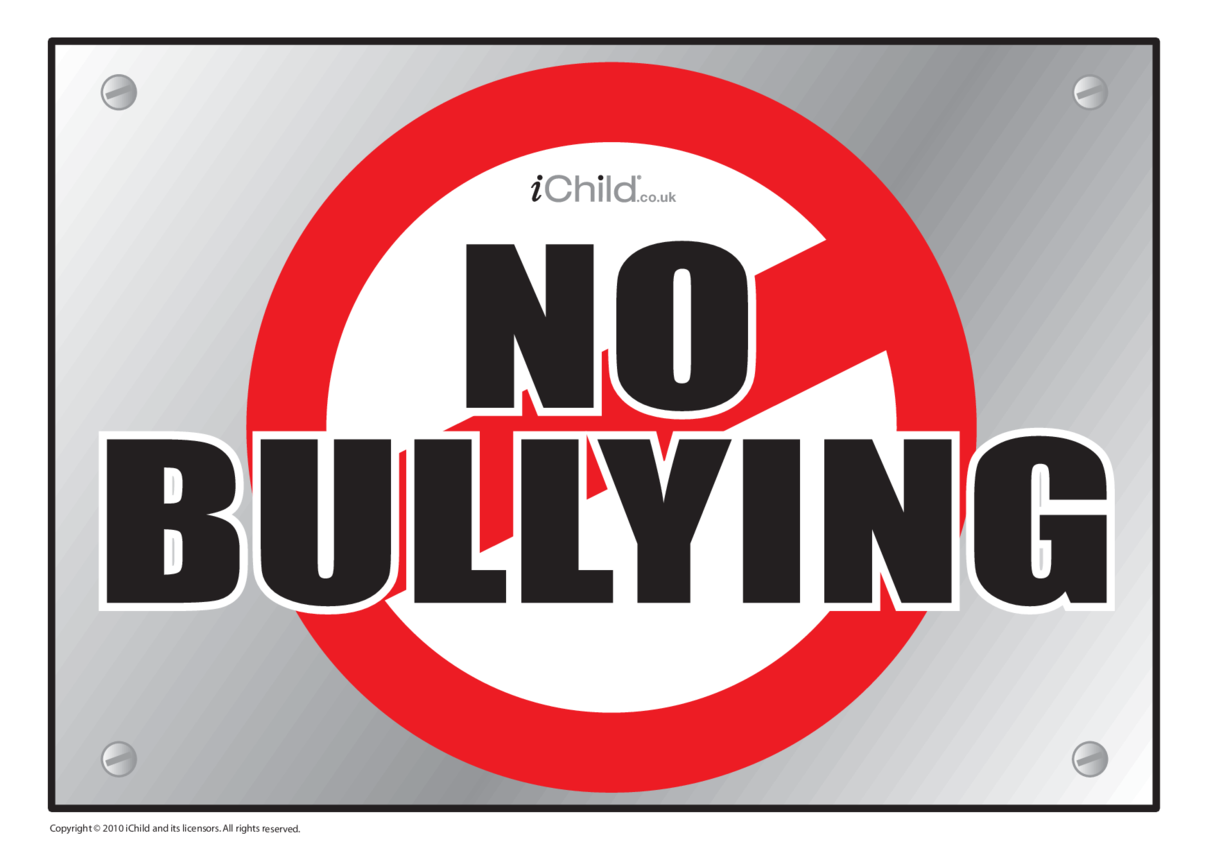 Anti-Bullying Poster (Colour)