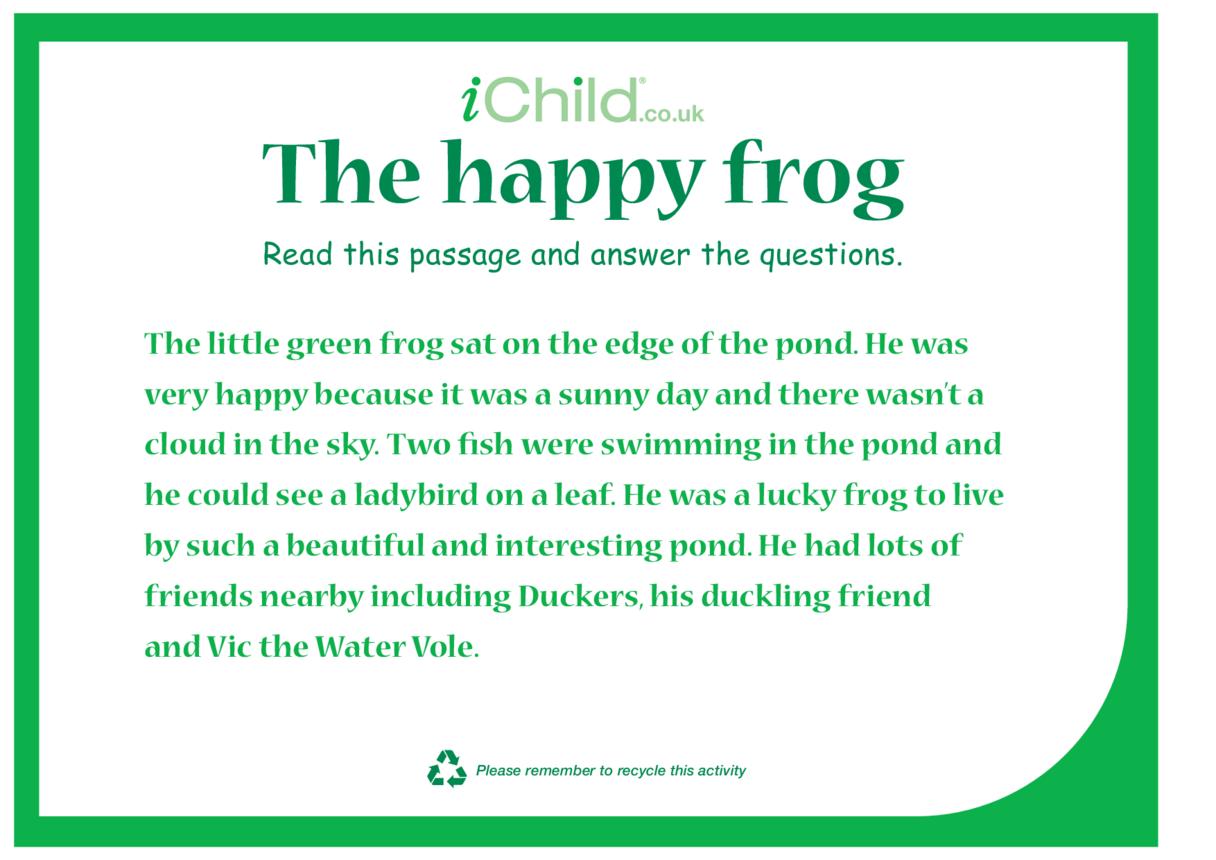 The Happy Frog