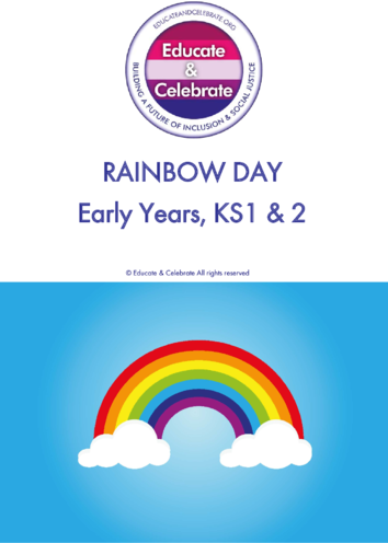 Thumbnail image for the Rainbow Day: Early Years - Educate & Celebrate activity.