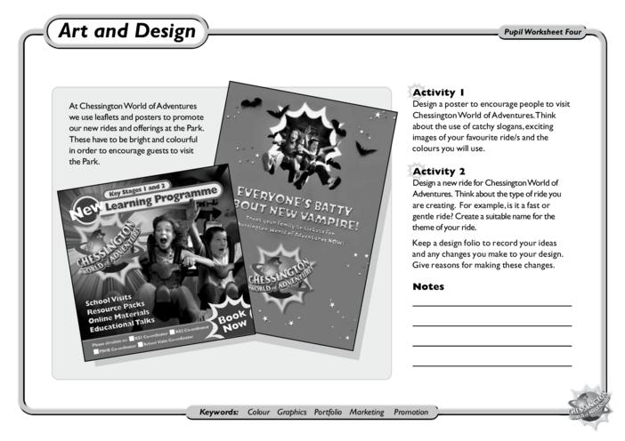 Thumbnail image for the Art & Design: KS1 and KS2 activity.