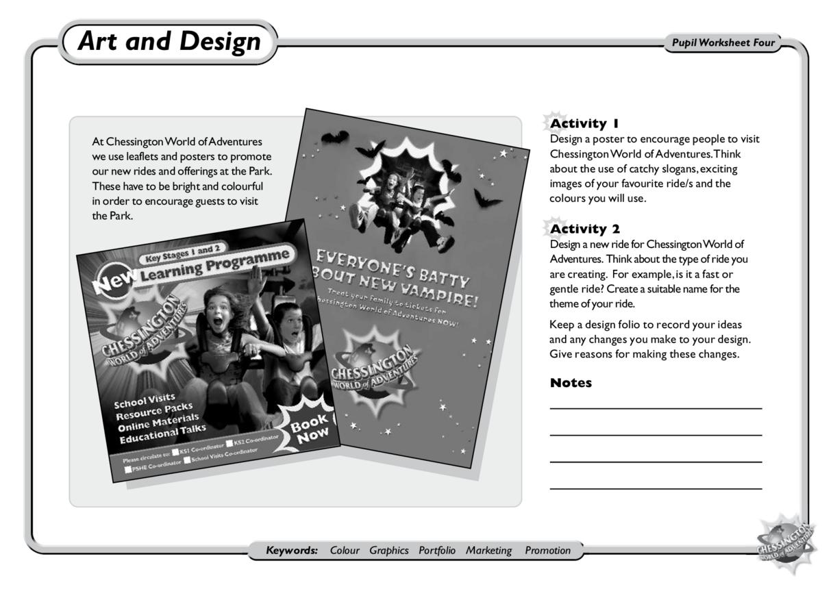 Art & Design: KS1 and KS2