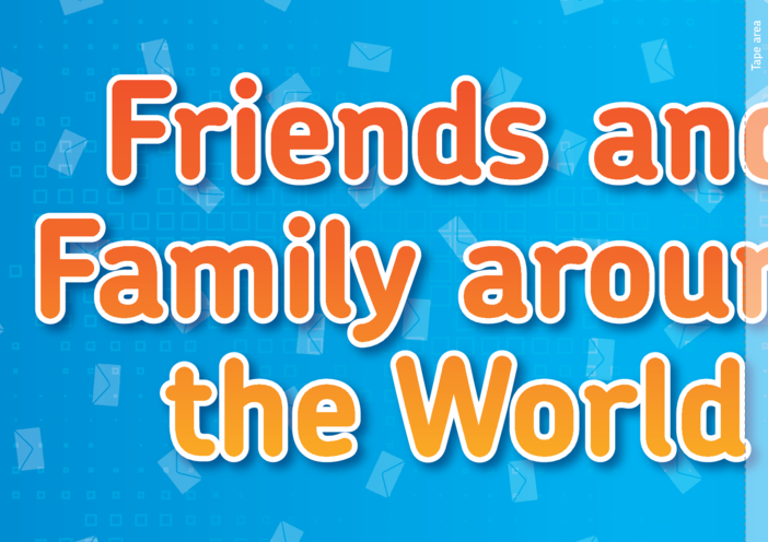 Thumbnail image for the Lesson Plan 1: Why Write Letters? 'Friends & Family Around the World' Banner activity.