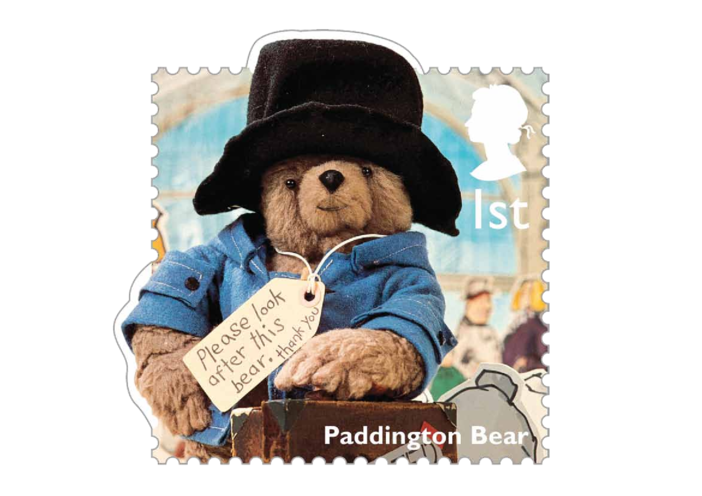 Thumbnail image for the Stamp Image - Paddington Bear activity.