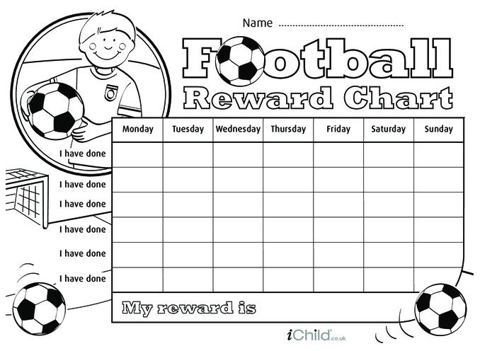 Thumbnail image for the Football Reward Chart activity.