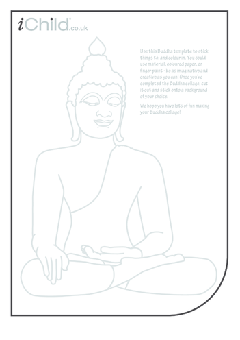 Thumbnail image for the Buddha Collage activity.