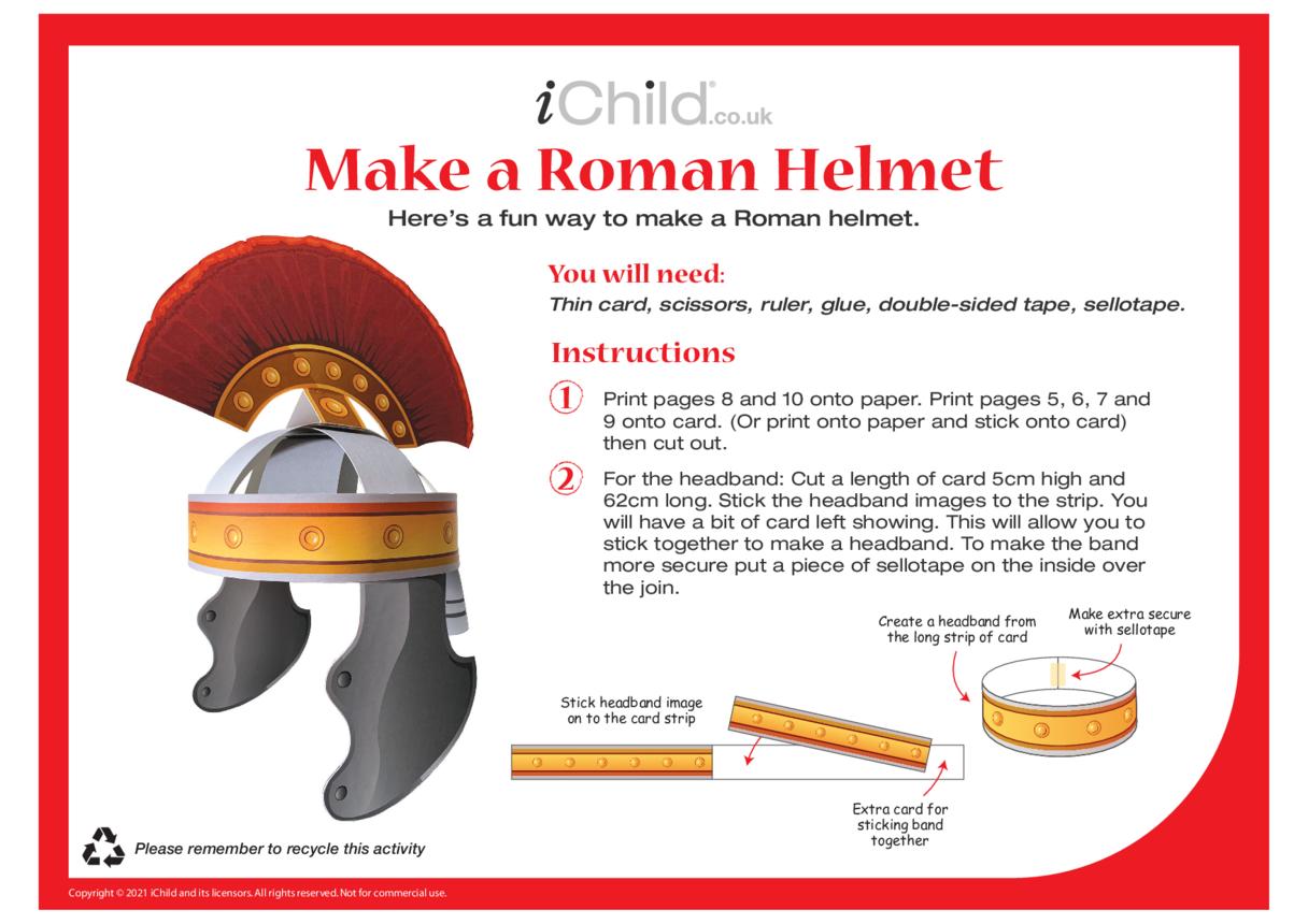 Make a Roman Helmet