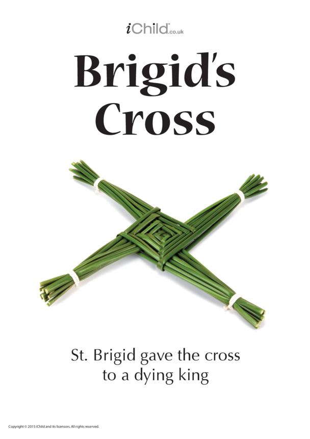 St Brigid's Cross Poster