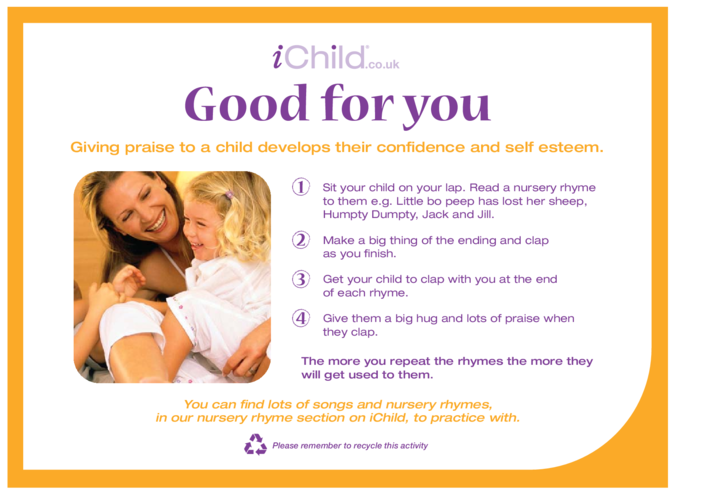 Thumbnail image for the Good For You activity.