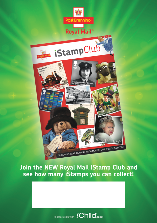 Royal Mail iStamp Welsh A3 Poster