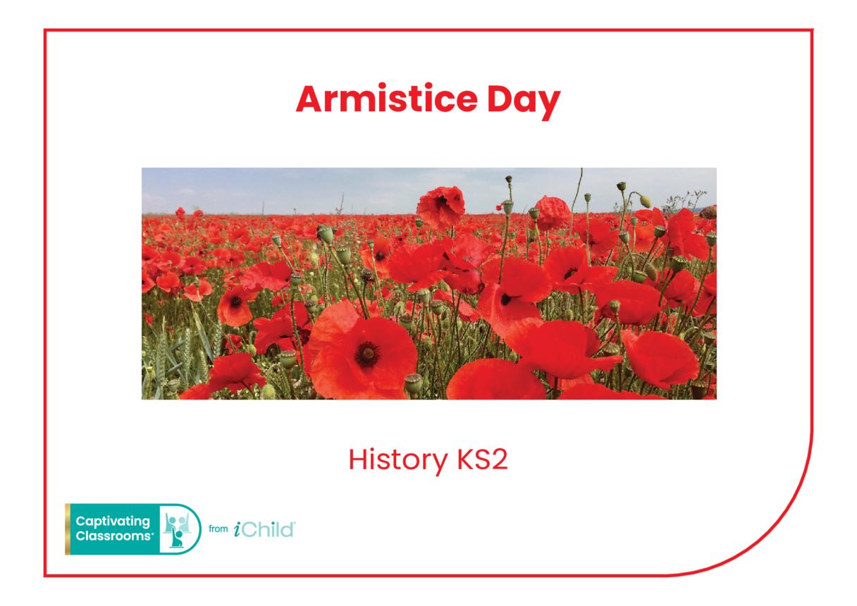 Armistice Day Historical Story