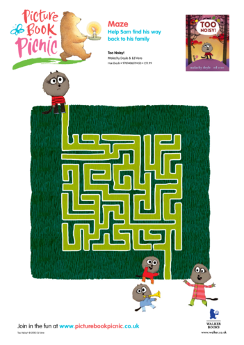 Thumbnail image for the Too Noisy: Maze activity.