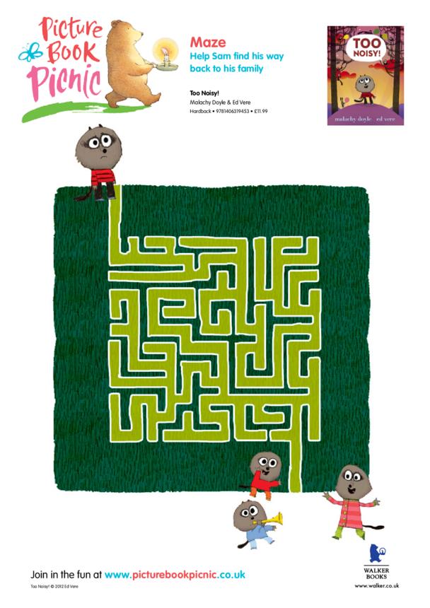 Too Noisy: Maze