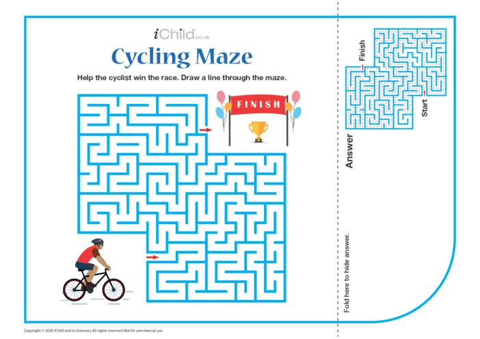 Thumbnail image for the Cycling Maze activity.