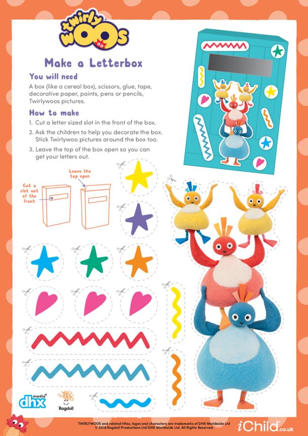 Twirlywoos Letterbox Craft
