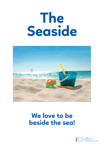 Thumbnail image for the Beside the Seaside - Photo Poster activity.