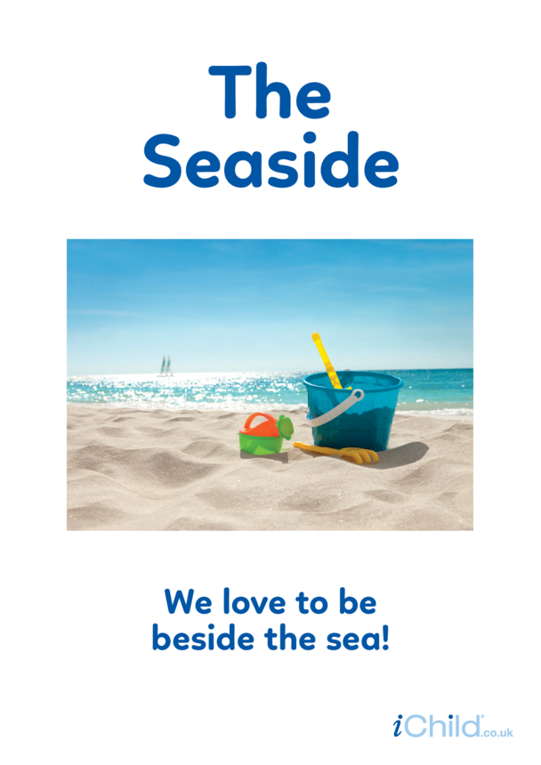 Beside the Seaside - Photo Poster