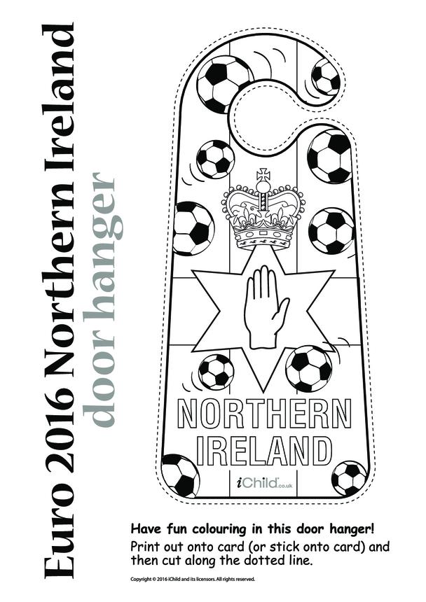 Euro 2016 Northern Ireland Door Hanger