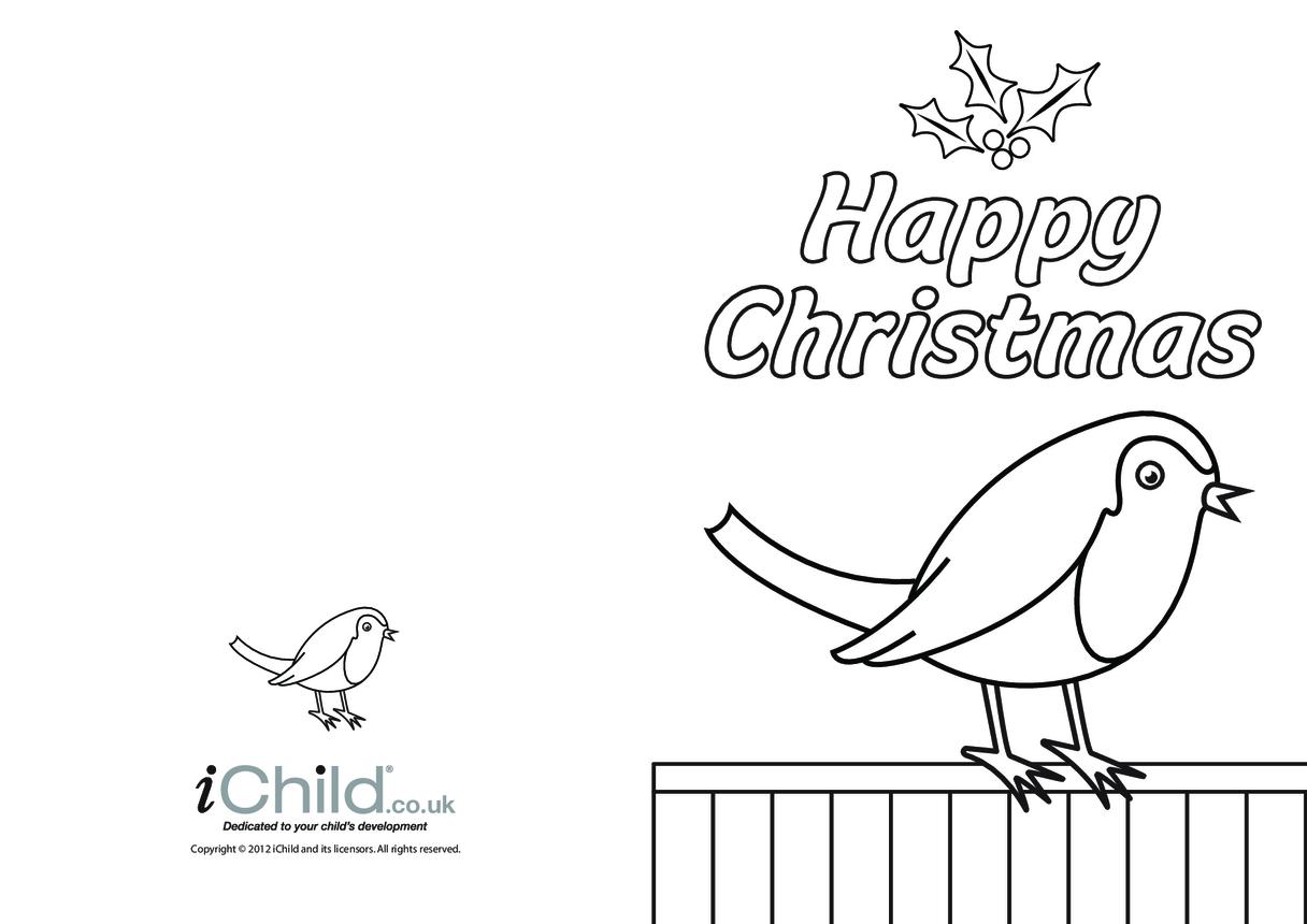 Christmas Card- Robin