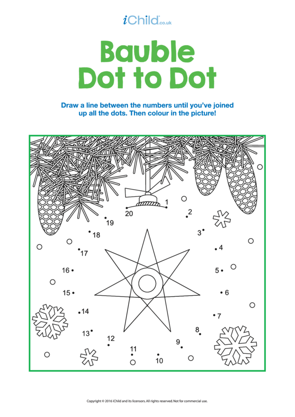 Dot to Dot Baubles