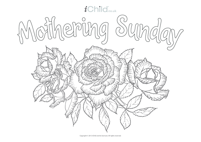 Thumbnail image for the Mothering Sunday Poster activity.