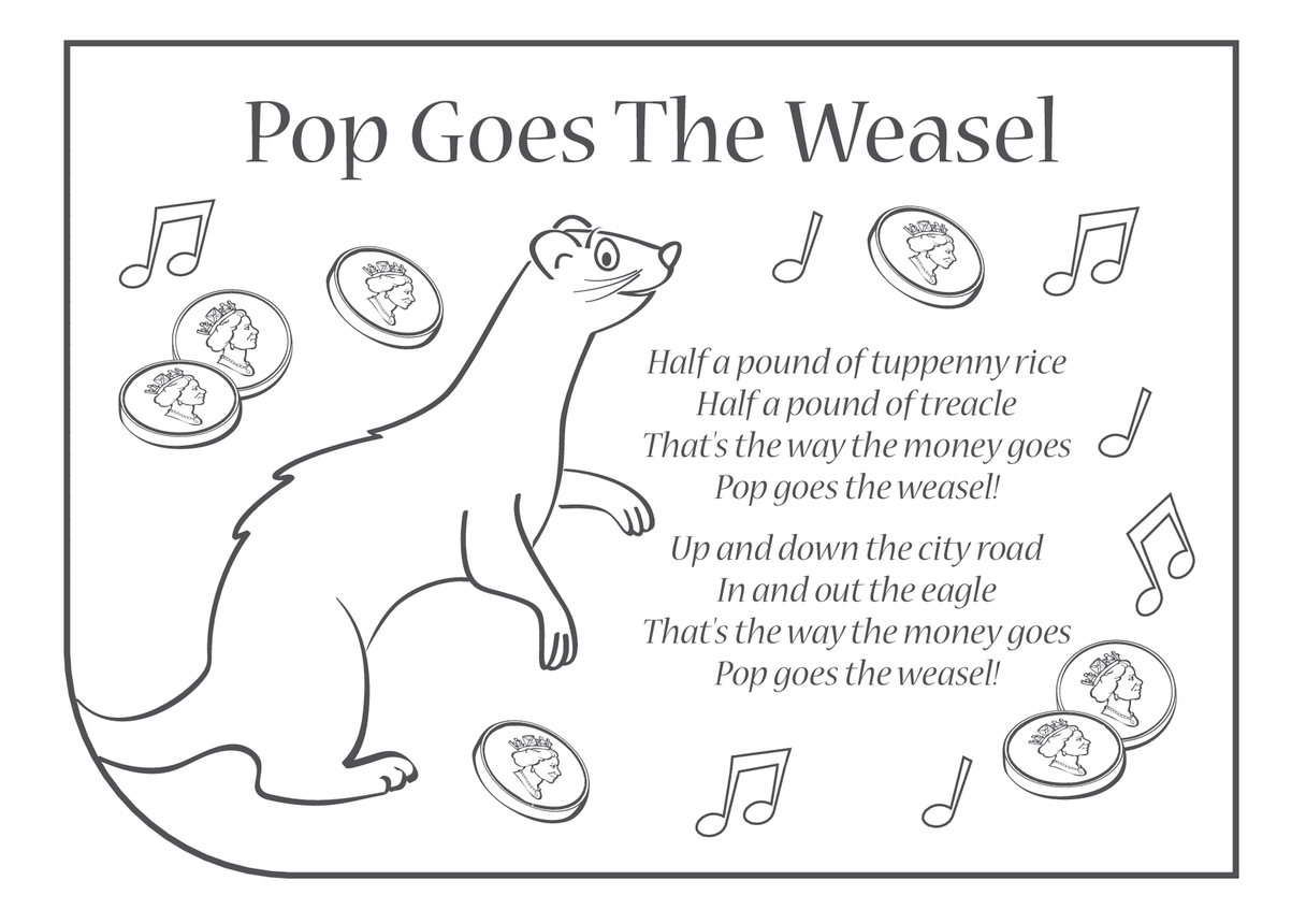 Pop Goes the Weasel Lyrics