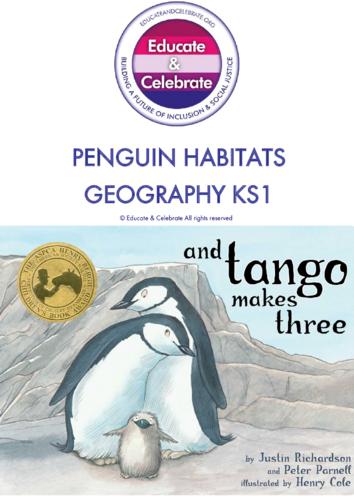 Thumbnail image for the Geography Penguin Habitats: KS1 - Educate & Celebrate activity.