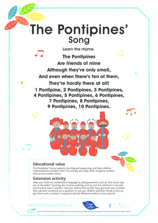 The Pontipines' Song