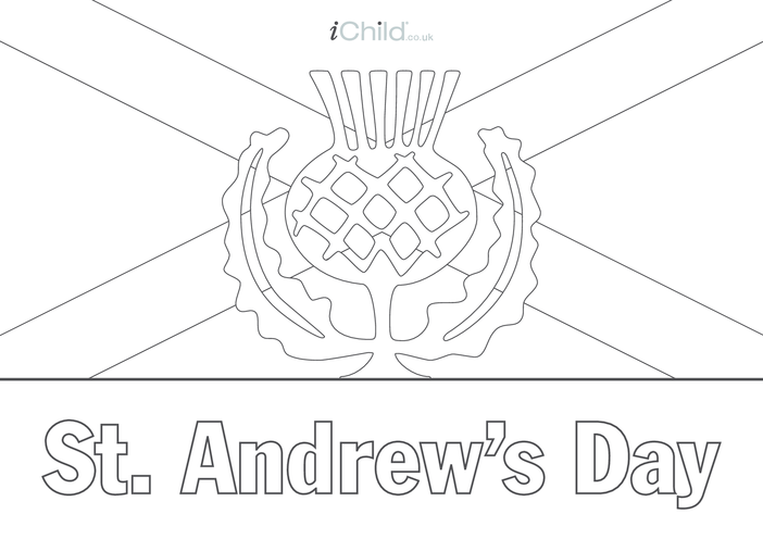 Thumbnail image for the St. Andrew's Day Poster activity.