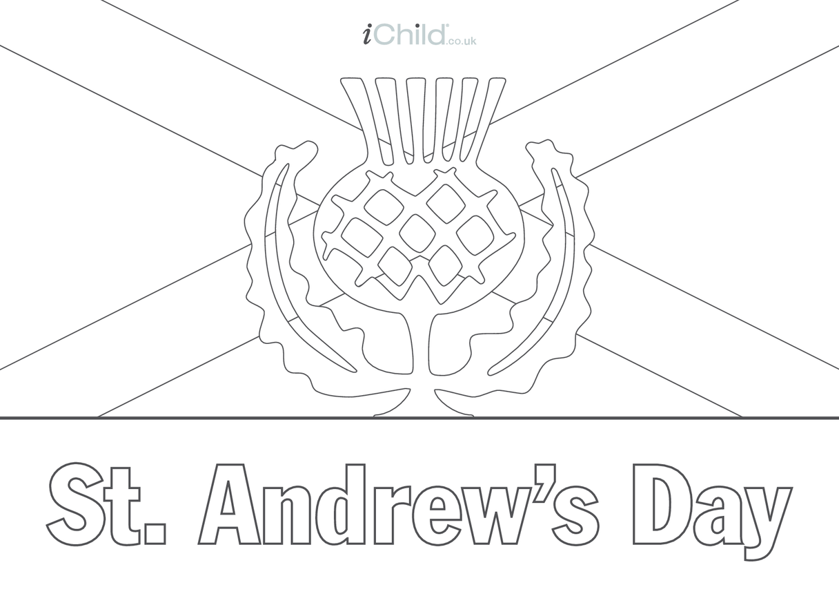 St. Andrew's Day Poster