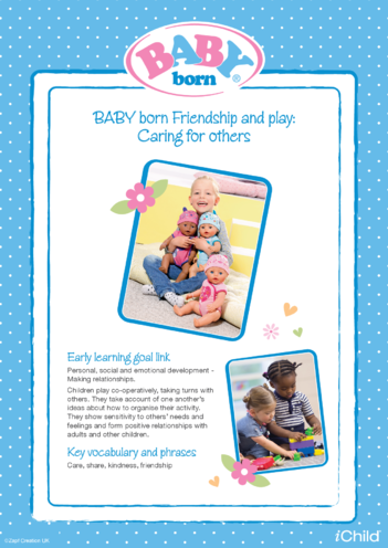 Thumbnail image for the BABY born Friendship & Play activity.