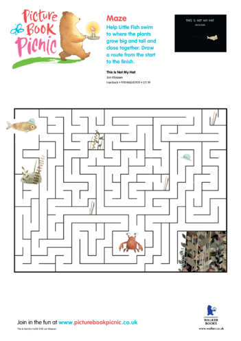 Thumbnail image for the This is Not My Hat: Maze activity.