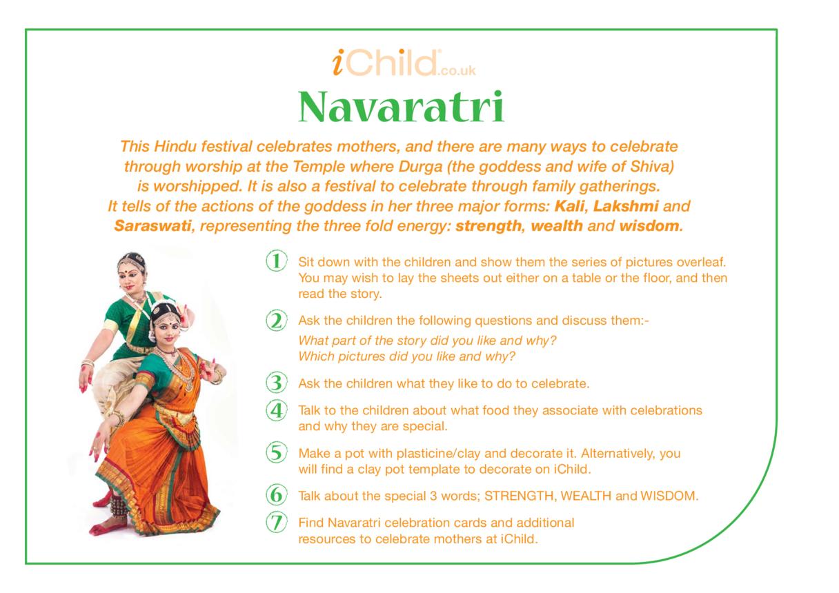 Navaratri Religious Festival Story