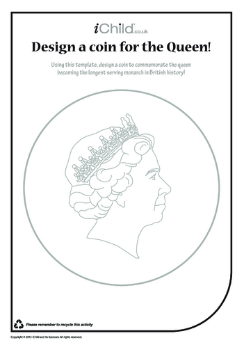Thumbnail image for the Design a Royal Coin activity.