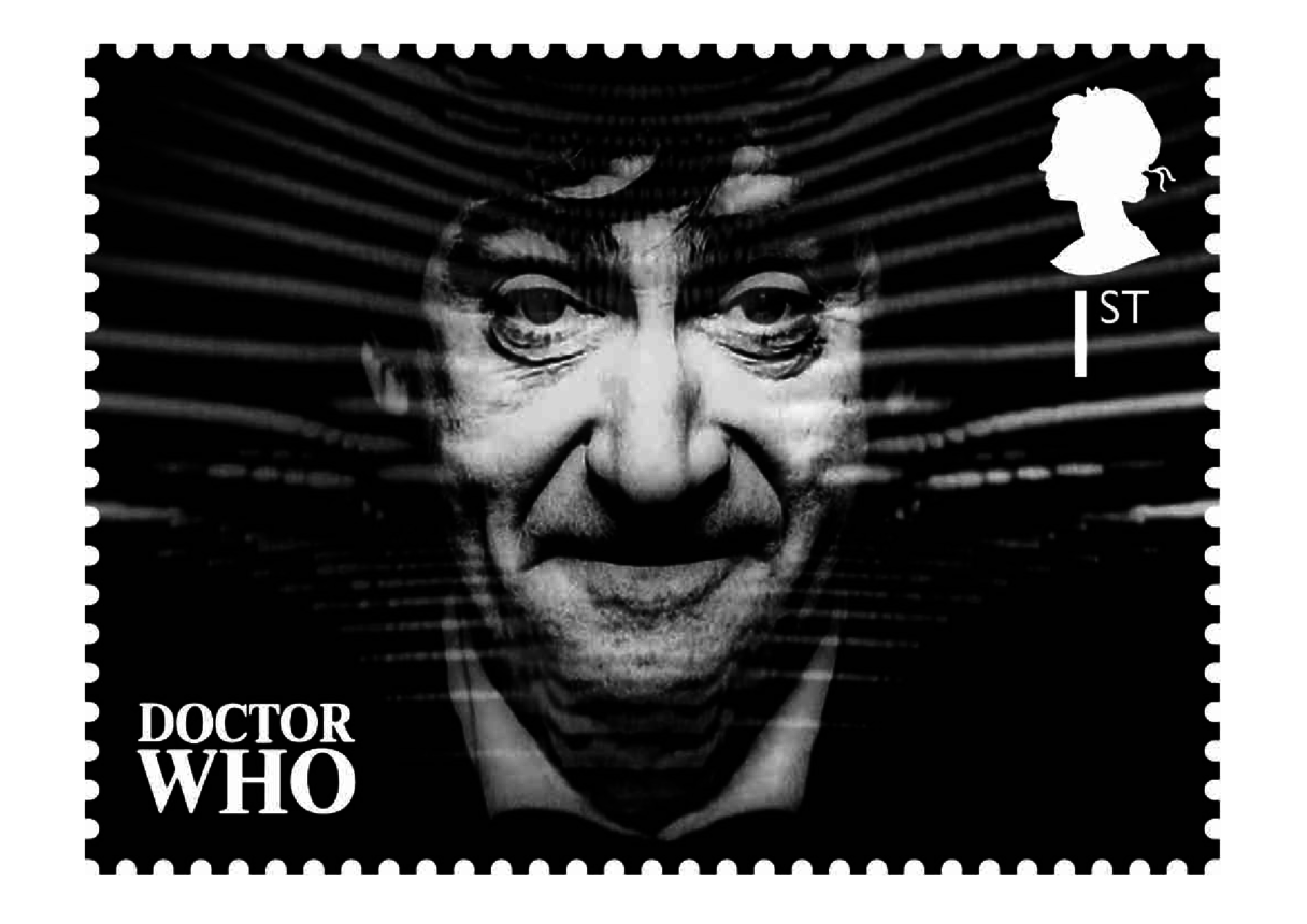 The 2nd Doctor- Patrick Troughton Stamp Image