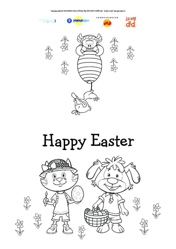 Pip Ahoy! Easter Card (Pip Ahoy!)