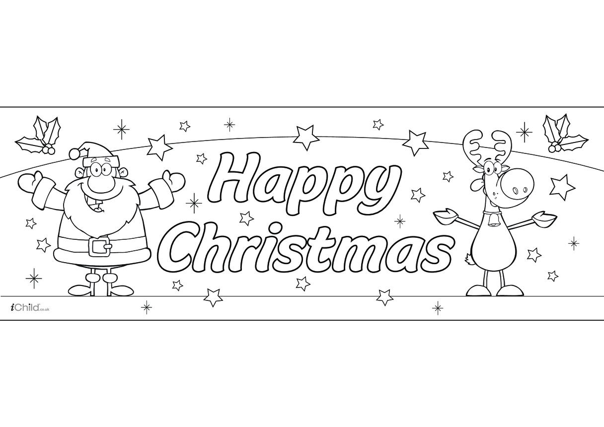 A3 Christmas Banner