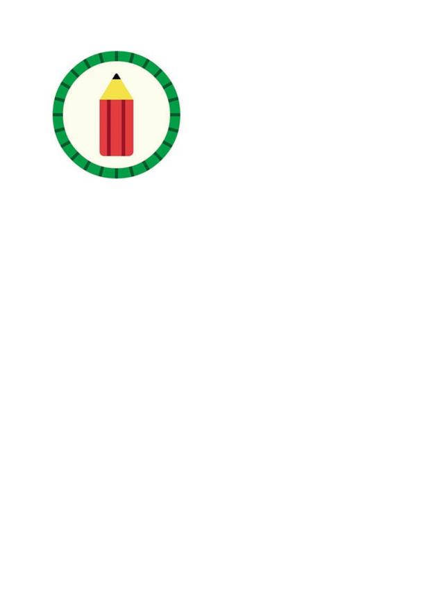 Hey Duggee Drawing Badge