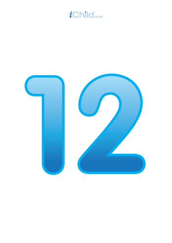 Thumbnail image for the 12: Number 12 - Poster activity.