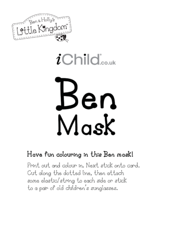 Thumbnail image for the Face Mask: Ben activity.