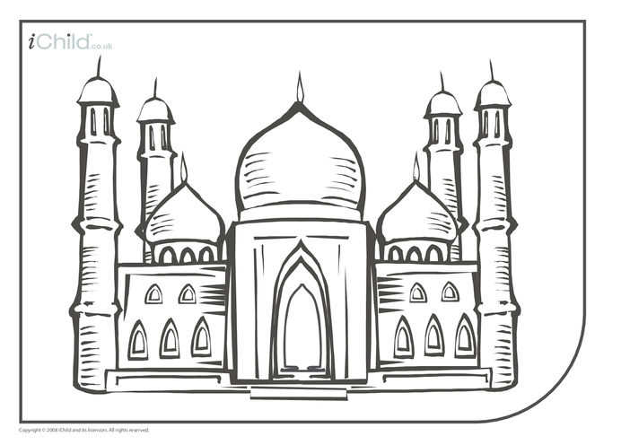Thumbnail image for the Eid Colouring In activity.