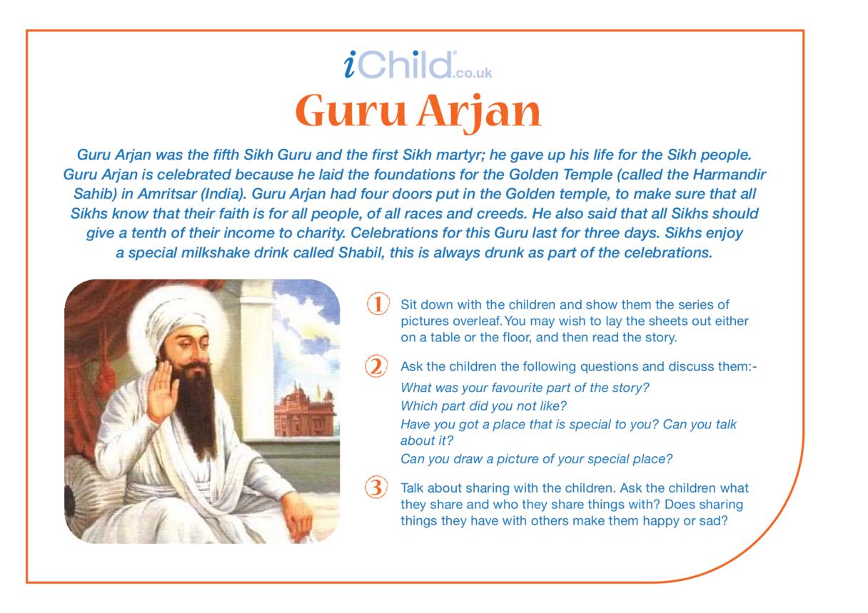 Birthday of Guru Arjan Dev Religious Festival Story