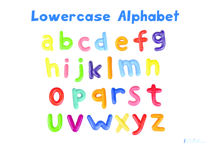 Thumbnail image for the Alphabet lower case letters activity.