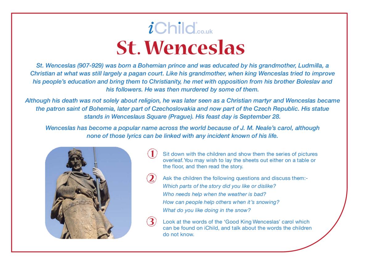 St. Wenceslas Religious Festival Story
