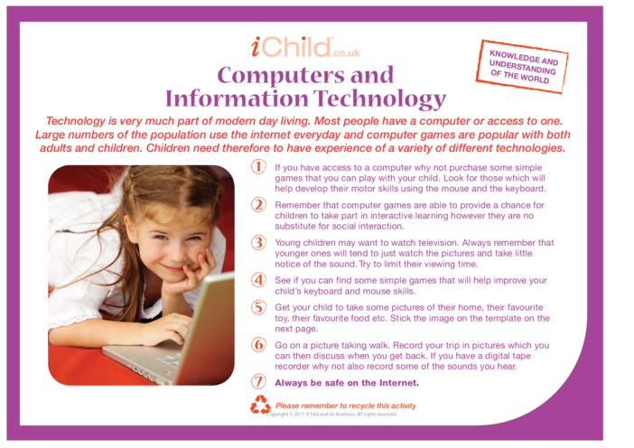 Thumbnail image for the Computers and Information Technology activity.
