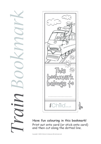 Thumbnail image for the Train Bookmark activity.