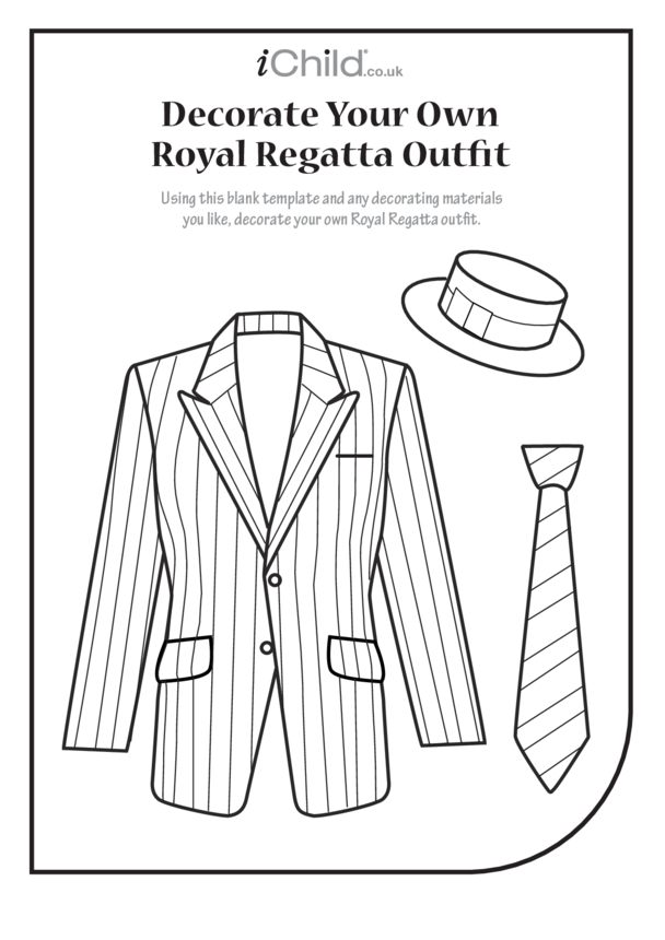 Decorate your own Royal Regatta outfit