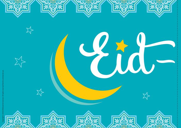 Thumbnail image for the Eid al-Fitr Banner activity.