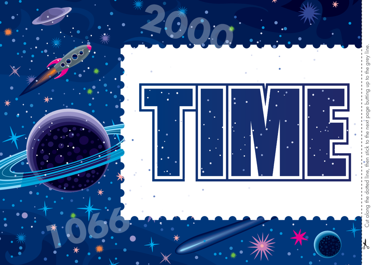 Primary 1) Time Travel Wall Display